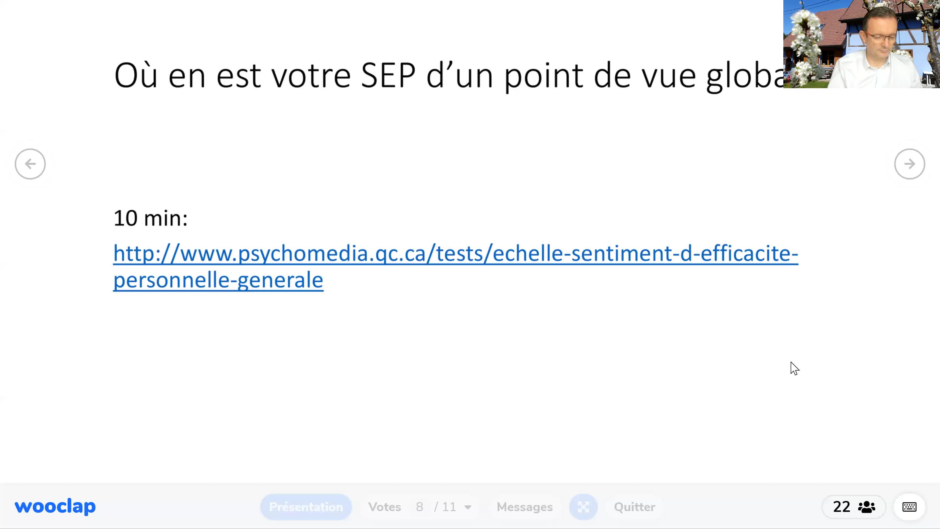 SEP & Agentivité - CAFEL36